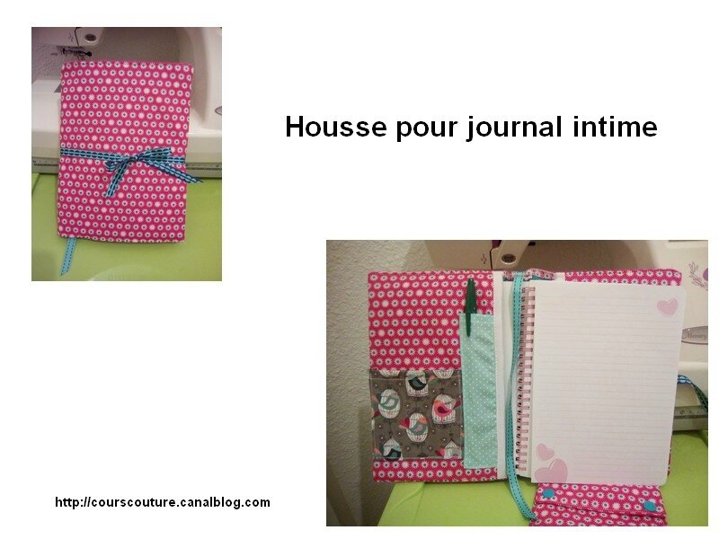 protège journal intime