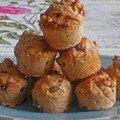 Mini muffins raisins cannelle