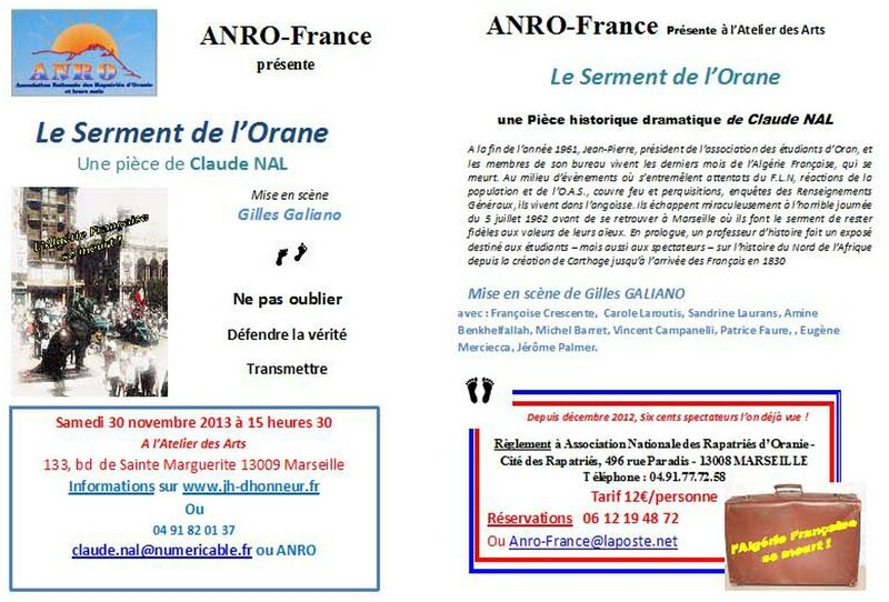 Flyer Anro-2marseille 2013