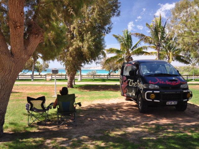 Au camping de Coral Bay
