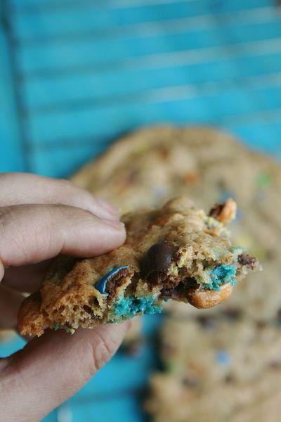 cookies géant au M&Ms 3