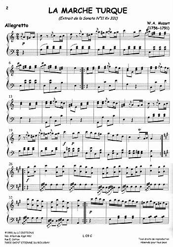 partition musique traditionnelle turque