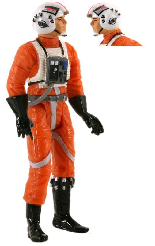 Red Leader x-wing pilot