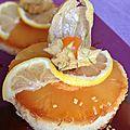 Gâteau exotique à l'ananas et caramel