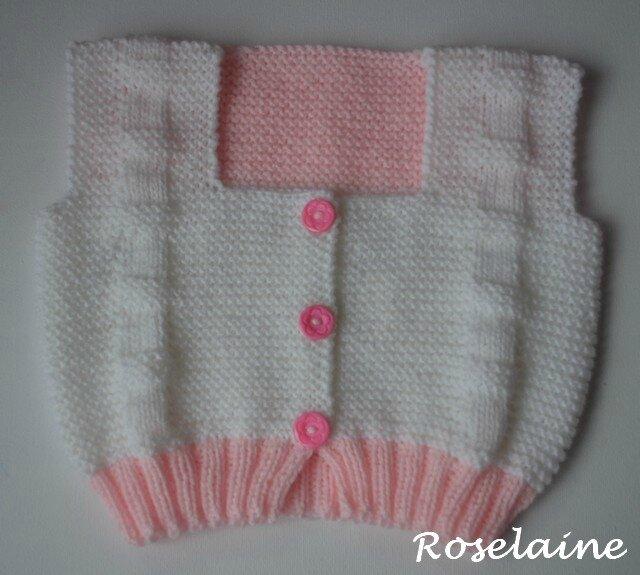 Roselaine gilet Bebek 1
