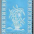 Carte Pergamano Héron