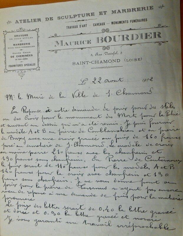 Bourdier lettre (1)