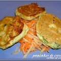 PANCAKES AUX CREVETTES