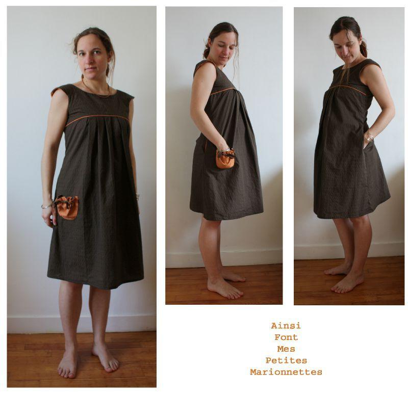 Bien connu Ma robe de gros bidon (mais pas que!) - Ainsi font mes petites  CE49