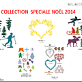 COLLECTION NOËL 2014