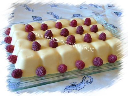 Entremets fruits de la passion 16