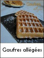 Gaufres allégées weight watchers