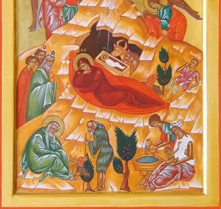 Méditation guidée à partir de l'icône de la Nativité de Novgorod