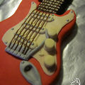 Gateau Guitare Fender