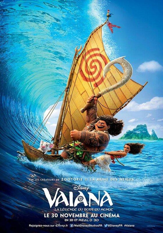 Vaiana, la légende du bout du monde - affiche