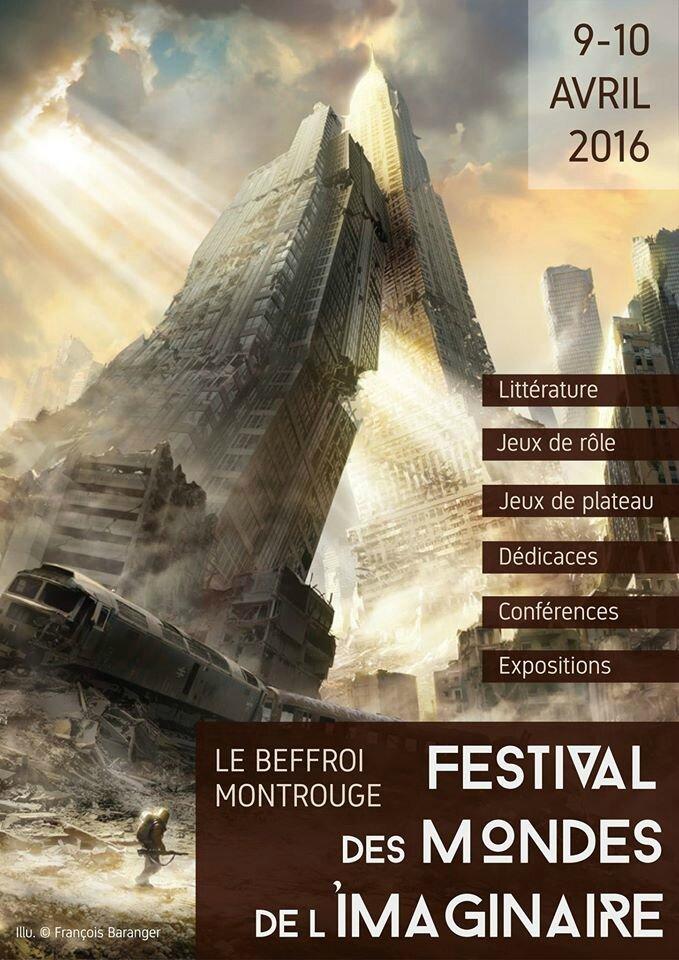 Evénement: FESTIVAL DES MONDES DE l'Imaginaire à Montrouge.