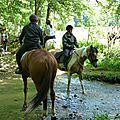 balade equestre gastronomique à La Lucerne d'Outremer (86)