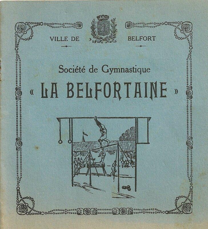 Livret La Belfortaine 25ème anniv 1901-1926 p00R