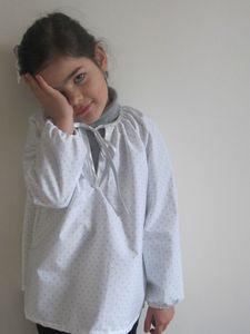 blouse pois 2