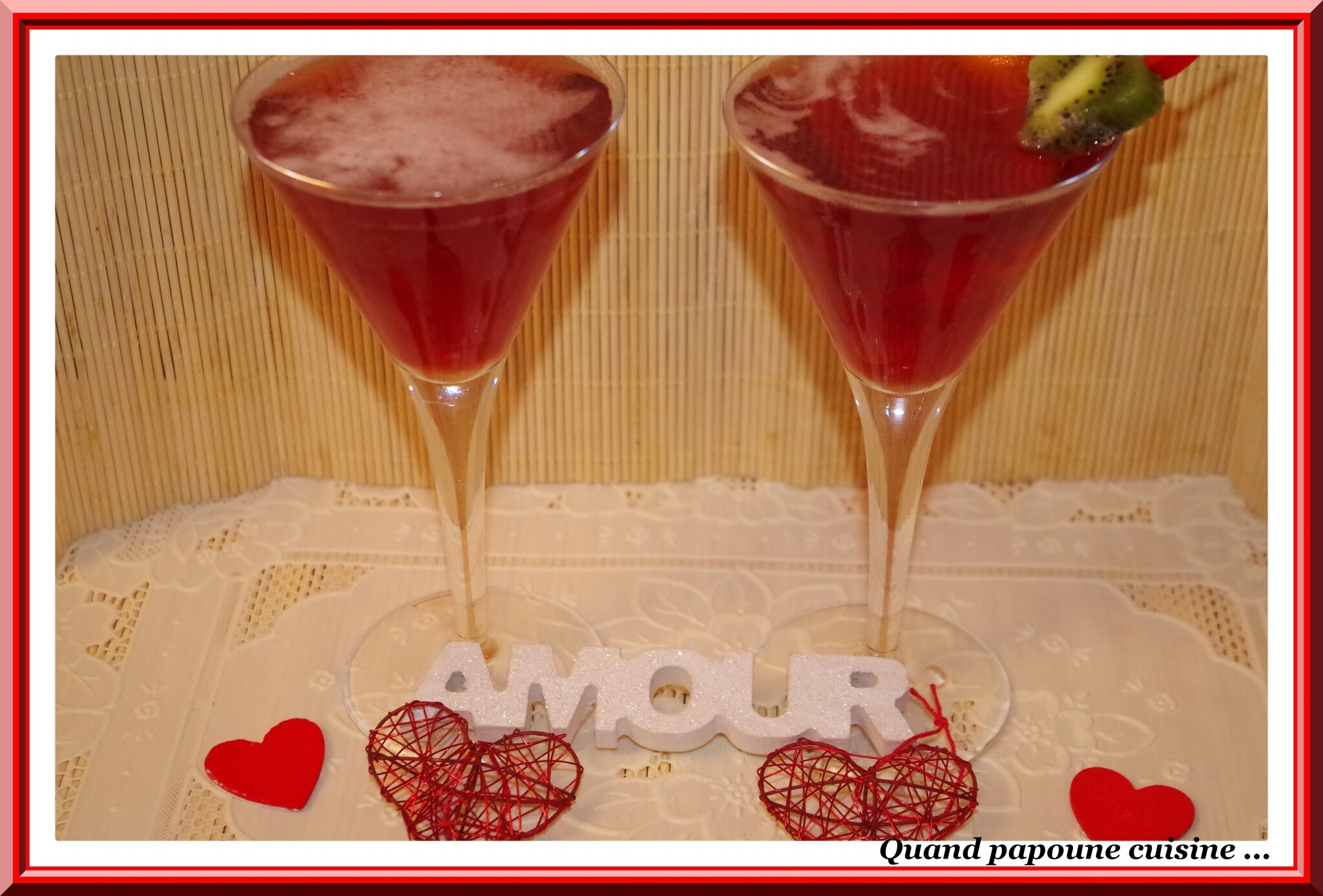 COCKTAIL SAINT-VALENTIN