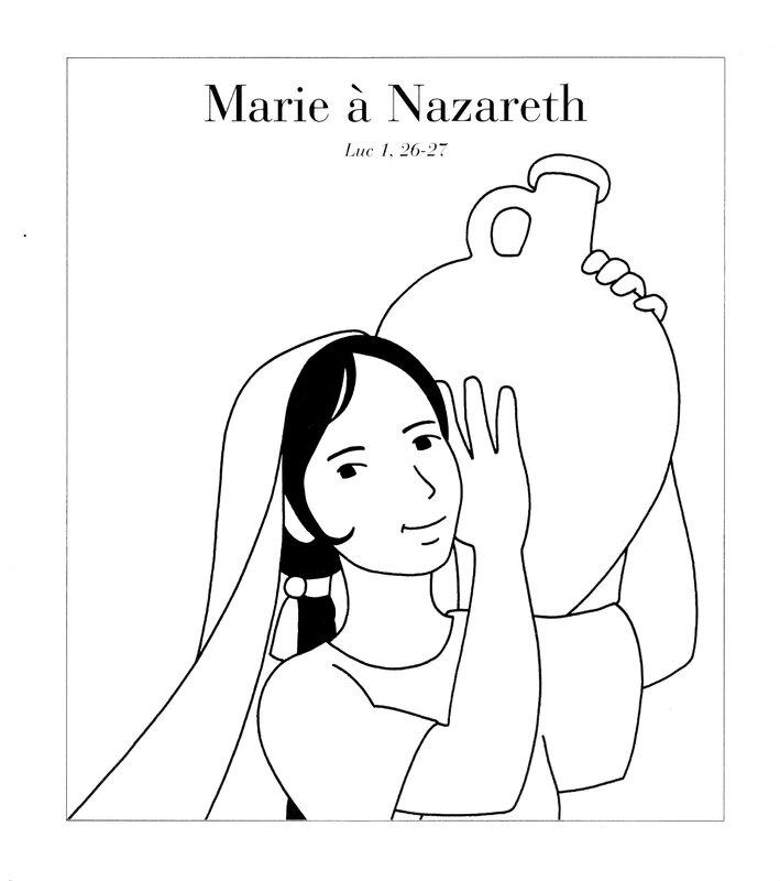 marie à nazareth luc 1,26