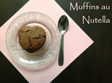 muffins au nutella blog
