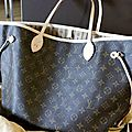 Cabas Neverfull Louis Vuitton MM ou GM