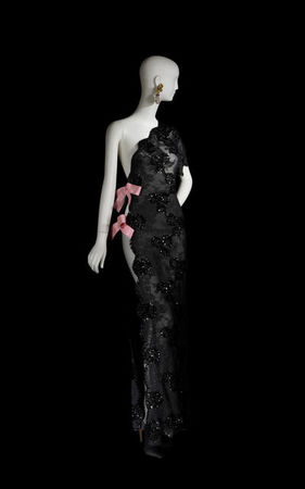 Yves_Saint_Laurent__Long_evening_dress