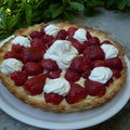 Tarte aux fraises et aux 2-crmes