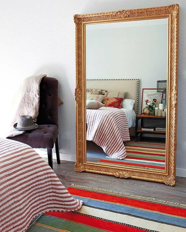 inspiration un miroir m me le sol sonia saelens d co. Black Bedroom Furniture Sets. Home Design Ideas