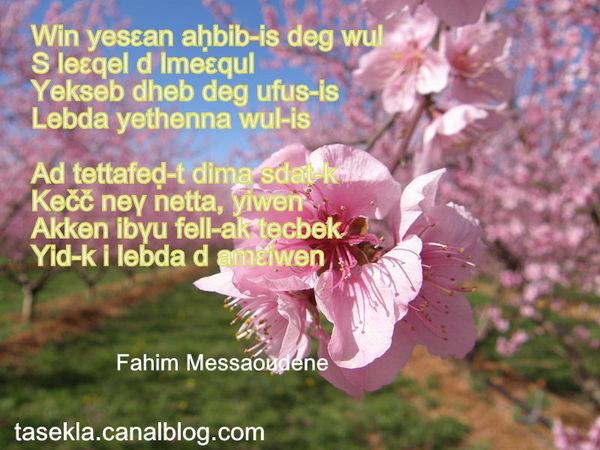 Asefru n Fahim_Messaoudene - tagmat