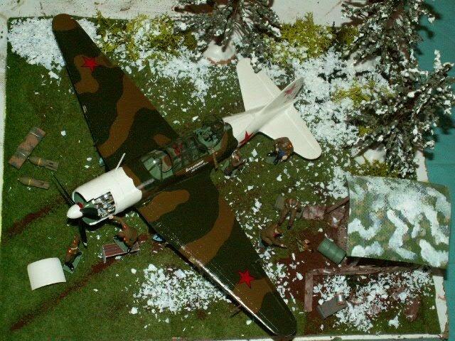 AVION SOVIET BOMBER SU 2 finie le 210317 (7)