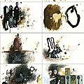 Dessin en vente à la galerie artevistas de barcelone (drawingson sale at the artevistas gallery barcelona).
