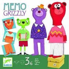boutique jeux de société - pontivy - morbihan - ludis factory - mémo grizzly