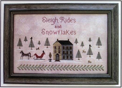sleigh rides and snowflakes