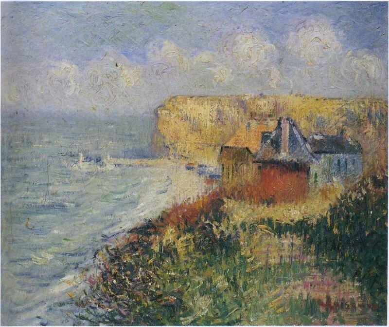 F�camp par Gustave Loiseau - Place des Impressionnistes : la Normandie