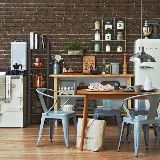 Industrial-Chic-Kitchen-Ideal-Home-Housetohome