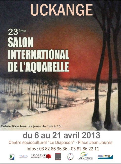 23 me salon international de l aquarelle de uckange for Salon polyarthrite