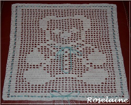 Free Teddy Bear Filet Crochet Afghan Pattern : Teddy Bear Filet Baby Blanket Crochet Pattern Search ...