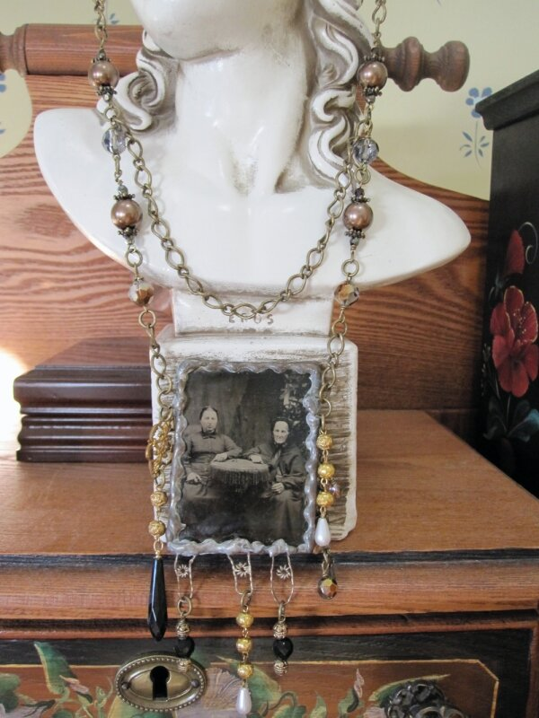 bijoux sur zinc grand mere
