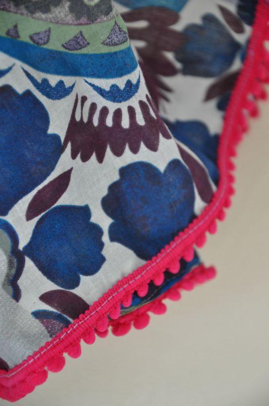 détail foulard