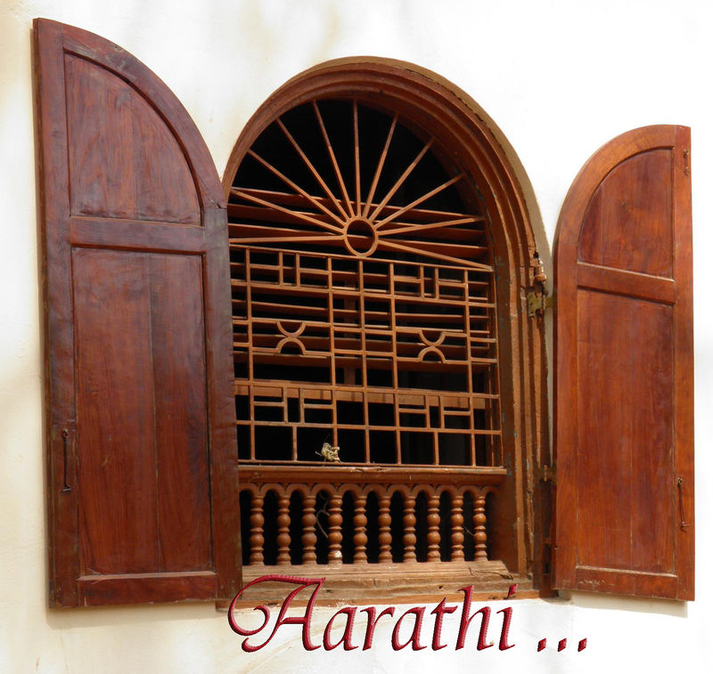 Mattancherry Palace Window designed by Portuguese
