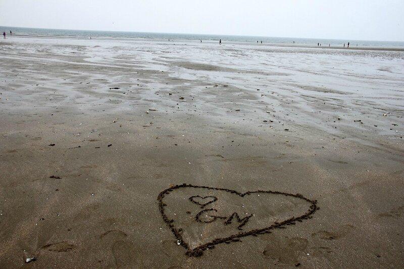 6-Hommage Grand-Mère, Coeur, Normandie, plage_4727