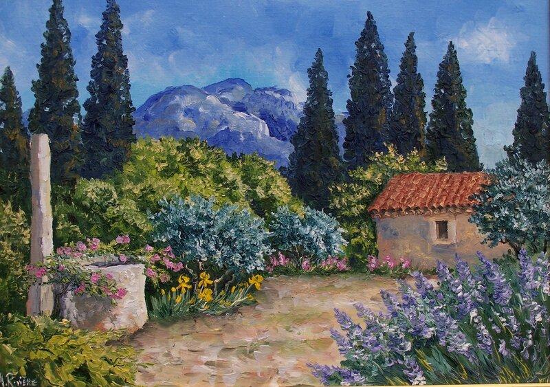 8f jardin du peintre Atelier A Rivière
