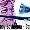 Corsair F4U Boyington cote gauche