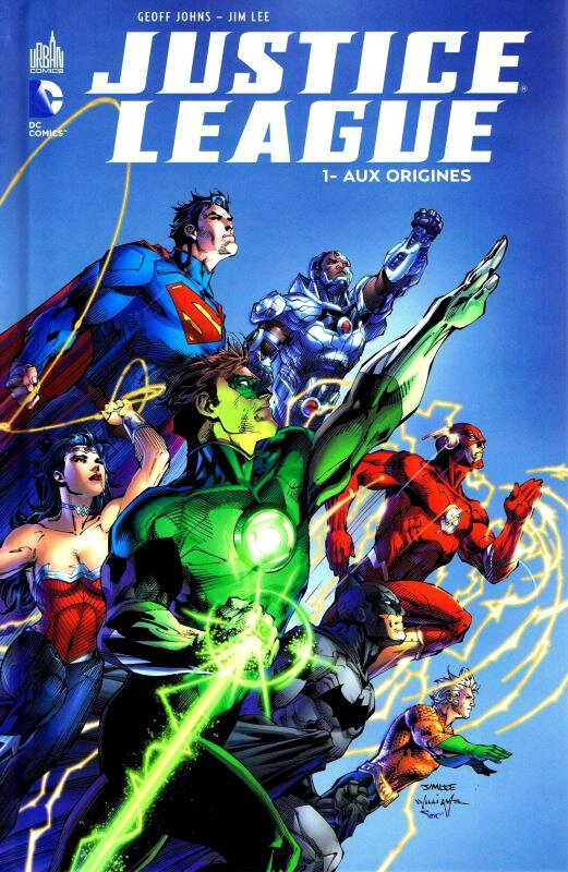 justice league 1 aux origines