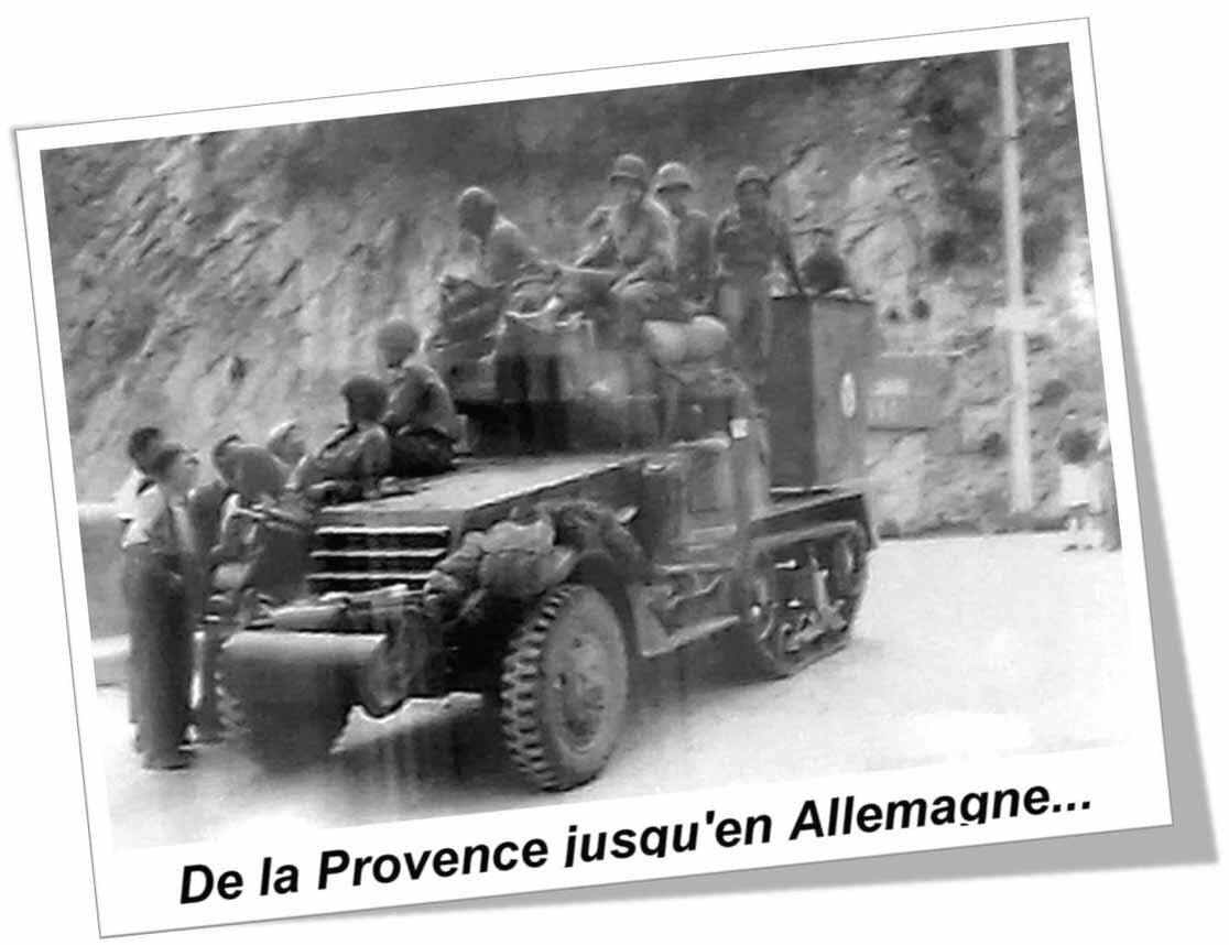 """Exposition à Beaumes de Venise du 8 au 27 mai 2017 : """"La libération, de la Provence jusqu'en Allemagne..."""""""
