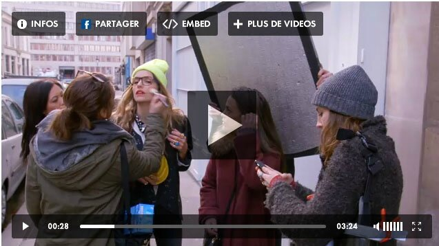 video blogueuse mode