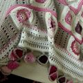 plaids et couvertures crochet