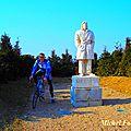 Balade cycliste jusqu'à pusignan pour découvrir le belvédère et la chapelle .. (est lyonnais/rhône)